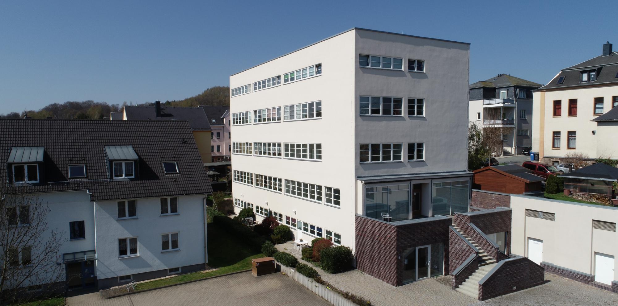Ehemaliges Kaufhaus Schocken in Oelsnitz/Erzgeb.